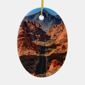 Mouses Tank Road - Valley Of Fire - Nevada Christmas Ornament