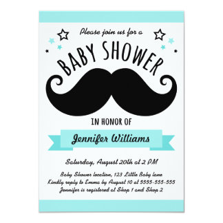 Browse Zazzle's Moustache Baby Shower Invitations Collection and personalise by colour, design, or style.