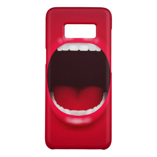 Mouth Samsung Galaxy S8, Barely There Phone Case
