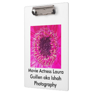 Movie Actress Laura Guillen aka Ishah Photography Clipboard