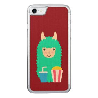 Movie Buff Llama Emoji Carved iPhone 8/7 Case