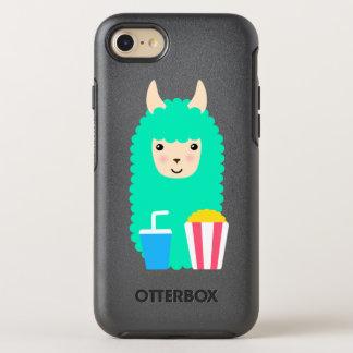 Movie Buff Llama Emoji OtterBox Symmetry iPhone 8/7 Case