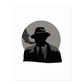 Movie Detective Postcard