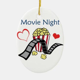 Movie Night Christmas Ornament