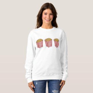 Movie Theatre Popcorn Carnival Caramel Corn Snack Sweatshirt