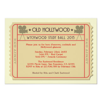 Movie Ticket Award Ceremony Party Invitation