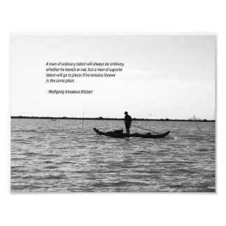Mozart travel quote poster