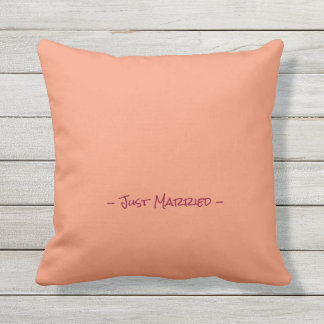 Mr and Mrs Bridal Pillow