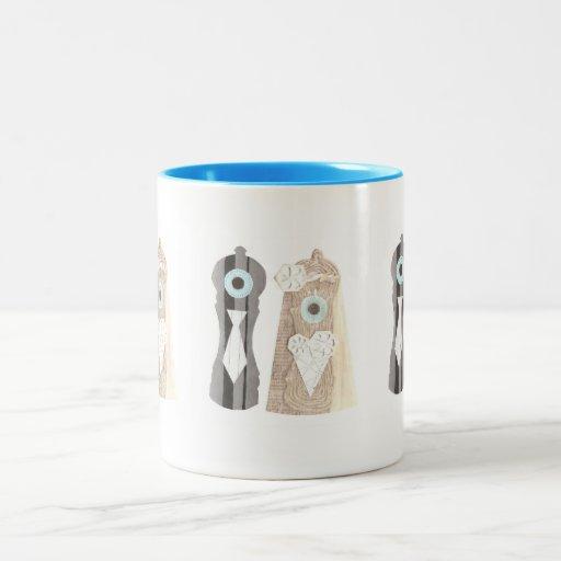 Mr and Mrs Salt n Pepper Mug
