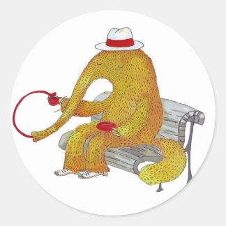 Mr. Anteater sticker