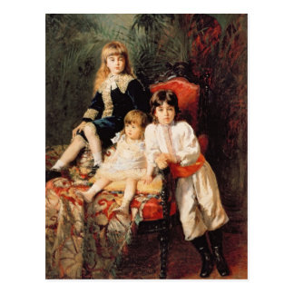 Mr. Balashov's Children, 1880 Postcard