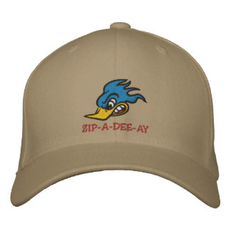 """Mr. Bluebird """"ZIP-A-DEE-AY"""" Embroidered Hat"""