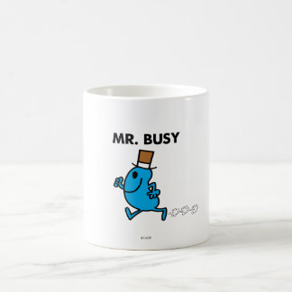 Mr. Busy Running Quickly Coffee Mug