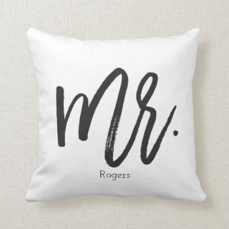 Mr. Calligraphy Pillow