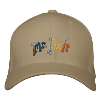 Mr Fix It Embroidered Hat