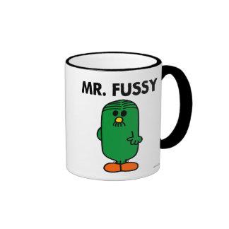 Mr Fussy Classic Coffee Mugs