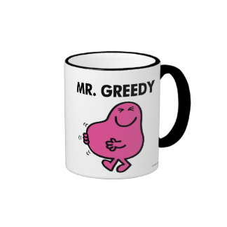 Mr Greedy Classic 2 Ringer Coffee Mug