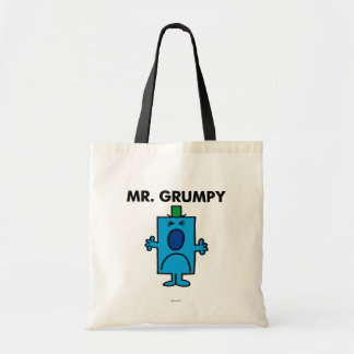 Mr. Grumpy | Frowning Face Budget Tote Bag
