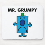 Mr. Grumpy | Frowning Face Mouse Pad