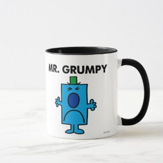 Mr. Grumpy | Frowning Face Mug