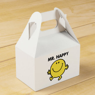 Mr. Happy | Dancing & Smiling Favour Box