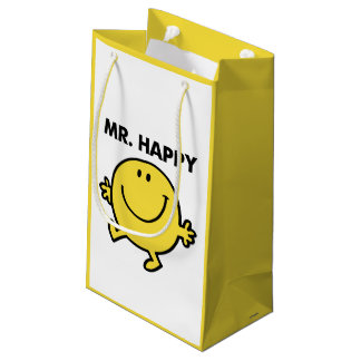 Mr. Happy | Dancing & Smiling Small Gift Bag