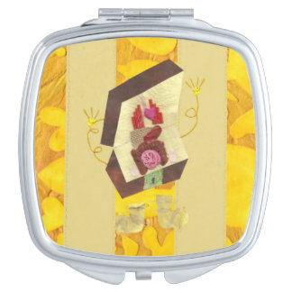 Mr Inside Out Man Compact Mirror