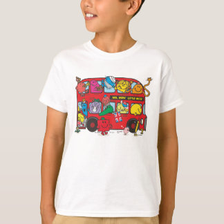 Mr. Men & Little Miss Crowded Bus T-Shirt