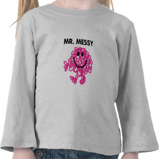 Mr. Messy | Classic Pose Tee Shirt