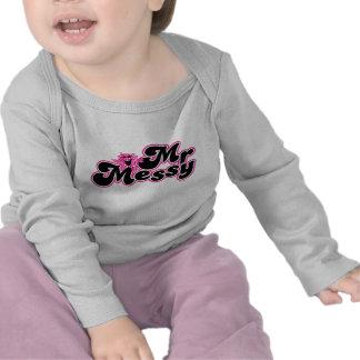 Mr Messy Logo 5 T Shirt