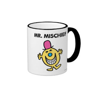 Mr. Mischief | Smiling Gleefully Ringer Mug