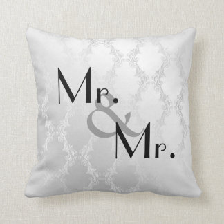 MR & MR. GAY  PILLOW GREAT GIFT THROW CUSHION