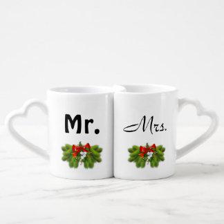 Mr. & Mrs. Christmas Coffee Mugs