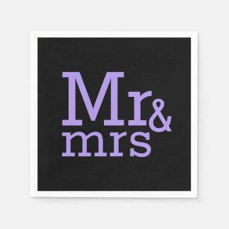 Mr & mrs Paper Napkins