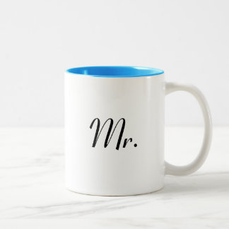 Mr mug - of Mr & Mrs mug set