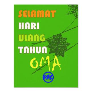 MR. Oma Verjaardagskaart Card