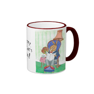 Mr Rabbit Father's Day Mug