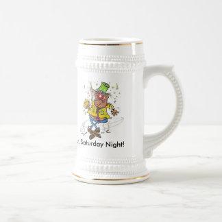 Mr. Saturday Night! Beer Steins