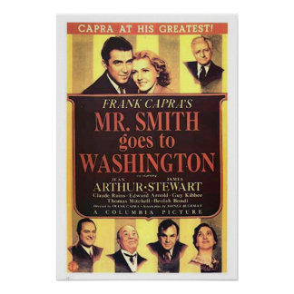 Mr Smith Goes To Washington Movie Poster