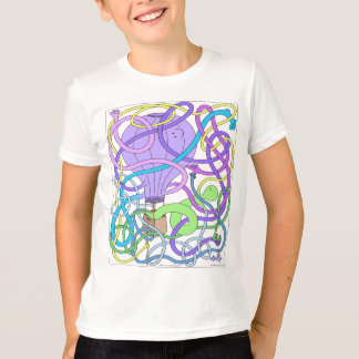 Mr. Squiggly Hot Air Balloon T-Shirt