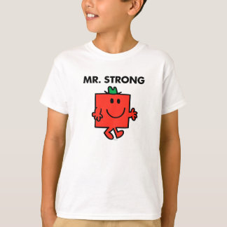 Mr. Strong Waving Hello T-Shirt