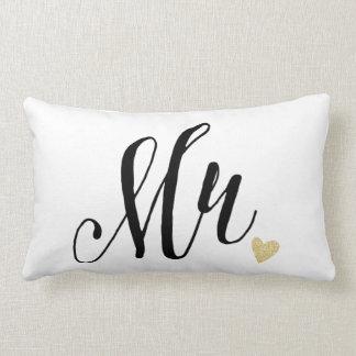 Mr.Wedding and Anniversary Lumbar Cushion