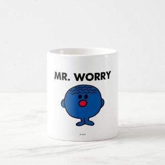 Mr Worry Classic Basic White Mug