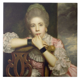 Mrs Abington as Miss Prue in Congreve's 'Love for Large Square Tile