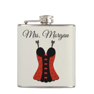 Mrs. Bachelorette Party Lingerie Hip Flask