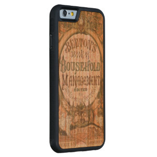 Mrs Beetons Book of Household Managemet Carved Cherry iPhone 6 Bumper Case