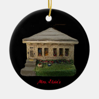 MRS. ELSIE'S HOUSE OLD TOWNE  XMAS ORNAMENT
