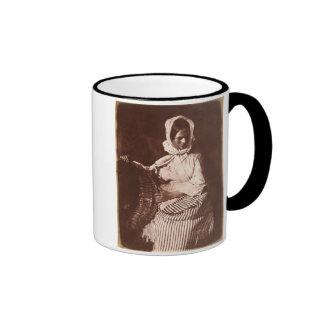 Mrs Hall, Newhaven, c.1843-47 (salt paper print fr Coffee Mug