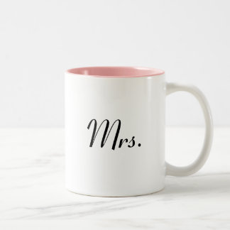 Mrs mug - of Mr & Mrs mugs set