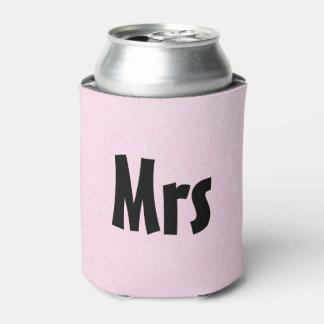 """""""Mrs"""" Pink Soda or Beer Cooler"""